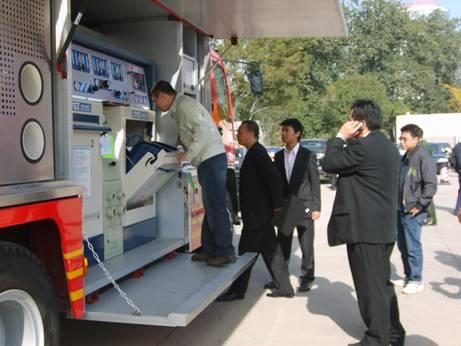 丽升实业圆满参加第十二届2008国际消防展