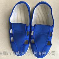 防静电深蓝色鞋