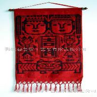 手织鲁锦,壁挂