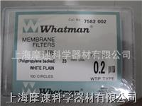 Whatman 7582-002 Teflon(PTFE)聚四氟乙烯膜0.2UM 25MM Whatman 7582-002 Teflon(PTFE)聚四氟乙烯膜0.2UM 25MM
