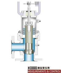 T-8710鉭材波紋管密封角型特殊設計控制閥 T-8710