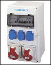 工业用插头插座/耦合器组合装置、多芯工业连接