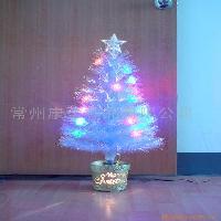 荷花光纤圣诞树