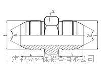 美制JIC螺紋74°錐面密封過渡接頭 1J