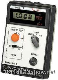 日本共立KYORITSU 3001B绝缘导通测试仪 日本共立KYORITSU 3001B绝缘/导通测试仪