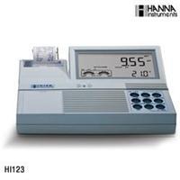 HI123实验室高精度pH/ORP/ISE/温度测定仪【内置打印】 HI123