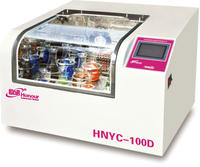 触摸式彩屏台式恒温培养振荡器 HNYC-100D