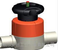 GF 手动对焊隔膜阀 GF 515