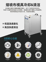 熔噴布模具冷卻儀 精細型幹冰環保清洗機