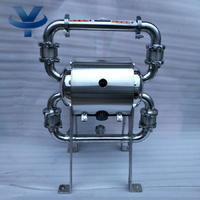 食用卫生级气动隔膜泵 YKQW-38