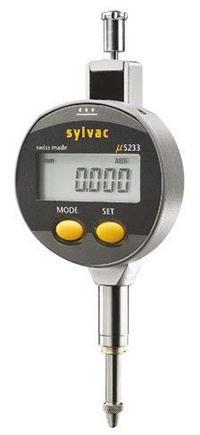 SYLVAC S_Dial S233 数显千分表 5mm 0.001mm 905.4540