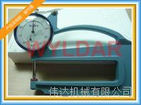 SM-114LS 10mm表盘式厚度表日本TECLCOK得乐上测头:???3.2mm球形 下测头:???10mm平面 SM-114、SM-114LS、SM-114LW、SM-114P