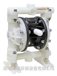 廣東拓思GMK15氣動隔膜泵加藥泵耐酸堿泵噴涂設備泵板框泵污泥輸送泵