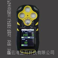 矿用本安型防爆四合一气体检测仪CD4(A)检测一氧化氮(NO)、氧气(O2)、氢气(H2)、氨气(NH3) CD4(A)
