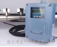 固定安装在线式管道流量水流速仪SZX100通讯接口RS232 RS485带存储