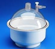 真空干燥器 PP材质,透明聚碳酸酯盖,氯丁橡胶O型圈