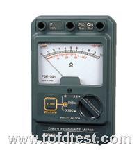 日本三和指针式接地电阻测试仪PDR301  日本三和指针式接地电阻测试仪PDR301