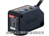 SUNX传感器 数字式色标传感器LX-101