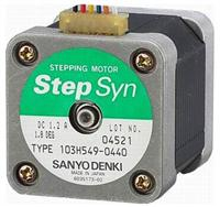 SANYO二相混合式步進電機103H549-0410  103H549-0410