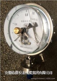 不銹鋼隔膜耐震電接點壓力表 YTPXCN-100B