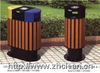 木质分类环保垃圾桶