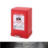 红色金属分类脚踏桶 GPX-229D S