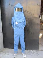 防電弧套裝 防電弧套裝(防電弧頭罩、大褂式上衣、背帶褲、防電弧手套、便攜式儲存包)