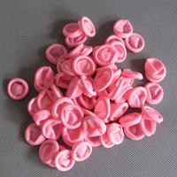 佳创净化粉红色防静电手指套