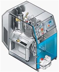CNG汽车改装检测高压压缩机,高压气瓶检测装置 PGT