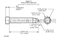 UL1278 UL1026 UL507试验探棒 PA130探棒
