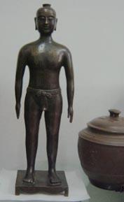 針灸銅人|仿古針灸銅人|銅人針灸模型(真銅全銅 45CM **小型) ZTR-001