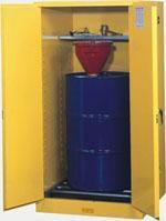 單油桶安全儲存櫃 油桶豎放型,8962001