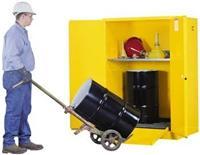 雙小油桶安全儲存櫃 2個30gal桶,899060