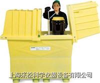 加高型兩桶裝敞蓋式盛漏箱 Enpac,2077-YE,163cmH