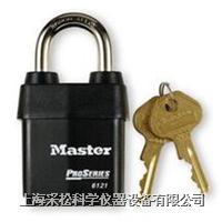 高耐候性鋼掛鎖 Master lock,6121LJ,63mm鎖鉤