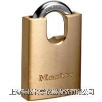 包鉤黃銅掛鎖 Master lock,2240,40mm寬鎖體,6mm粗鎖鉤,小號