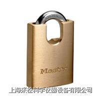 包鉤黃銅掛鎖 Master lock,2250,50mm寬鎖體,9mm粗鎖鉤,大號