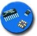 新型三轴罗盘芯片 HMC1055