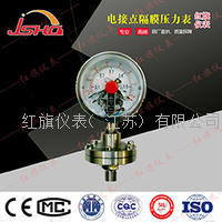 YXTP100电接点隔膜压力表