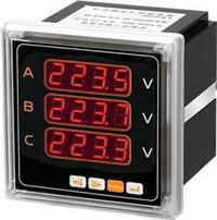 A方形智能三相电压表