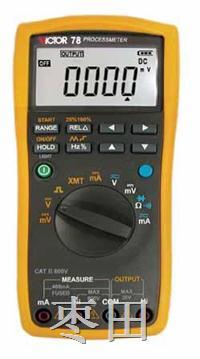 过程校验仪带万用表功能 VC78