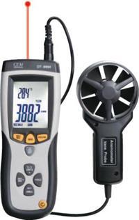 工业专业风速/风温/风量测温仪