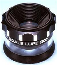 供应日本PEAK必佳2055-L带灯带刻度放大镜