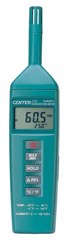 CENTER-315數字溫濕度計 CENTER-315