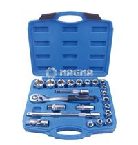 "22 pcs 1/2"" Drive Metric Socket Set"