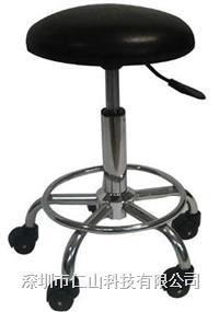防靜電五爪圓凳 防靜電圓凳、防靜電氣動升降圓凳