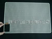 LCM硅膠防靜電防滑墊、模組防靜電硅膠防滑墊 防靜電止滑墊、硅膠防靜電止滑墊、耐高溫模組硅膠防滑墊