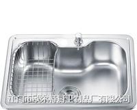 欧尔特不锈钢厨房水槽(单槽)