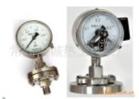 厂家优惠供应隔膜压力表防腐压力表 YM
