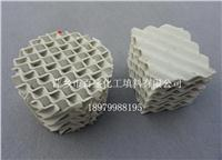 萍鄉百盛操作彈性大陶瓷規整波紋填料 125-700(X)Y